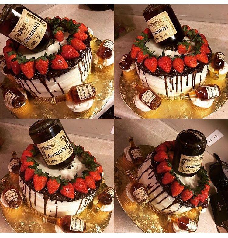 Hennessy Cake Birthday Ideas In 2019 Hennessy Cake Birthday