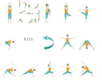 45 minute yoga sequences  foundational sequences for yoga