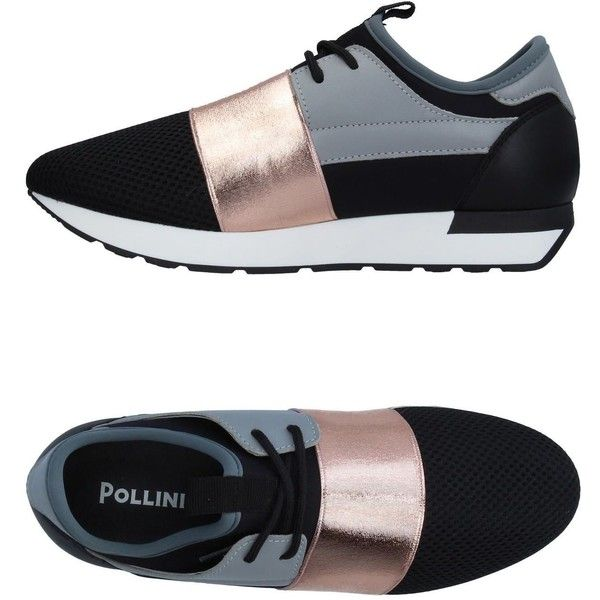 Pollini Sneakers ($122) ❤ liked on
