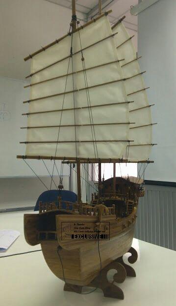 Front half-left for junk ship