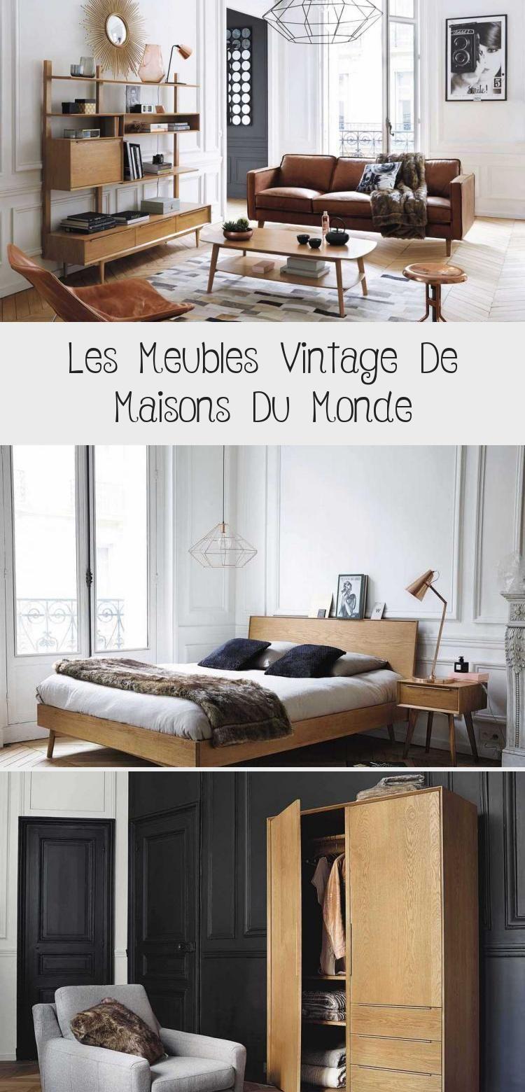 Les Meubles Vintage De Maisons Du Monde Fr En 2020 Mobilier De Salon Meuble Vintage Decoration Maison