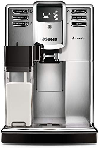 New Saeco Incanto Carafe Super Automatic Espresso Machine  AquaClean filter, Stainless Steel, HD8917/48 online - Bestsellersoutfits #automaticespressomachine