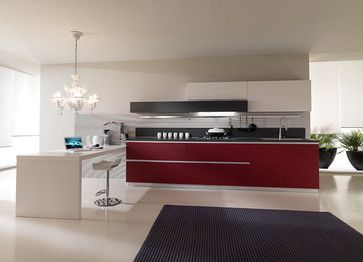 Contemporary Kitchen Design Pedini San Diego  Contemporary Amusing Kitchen Designers San Diego Review