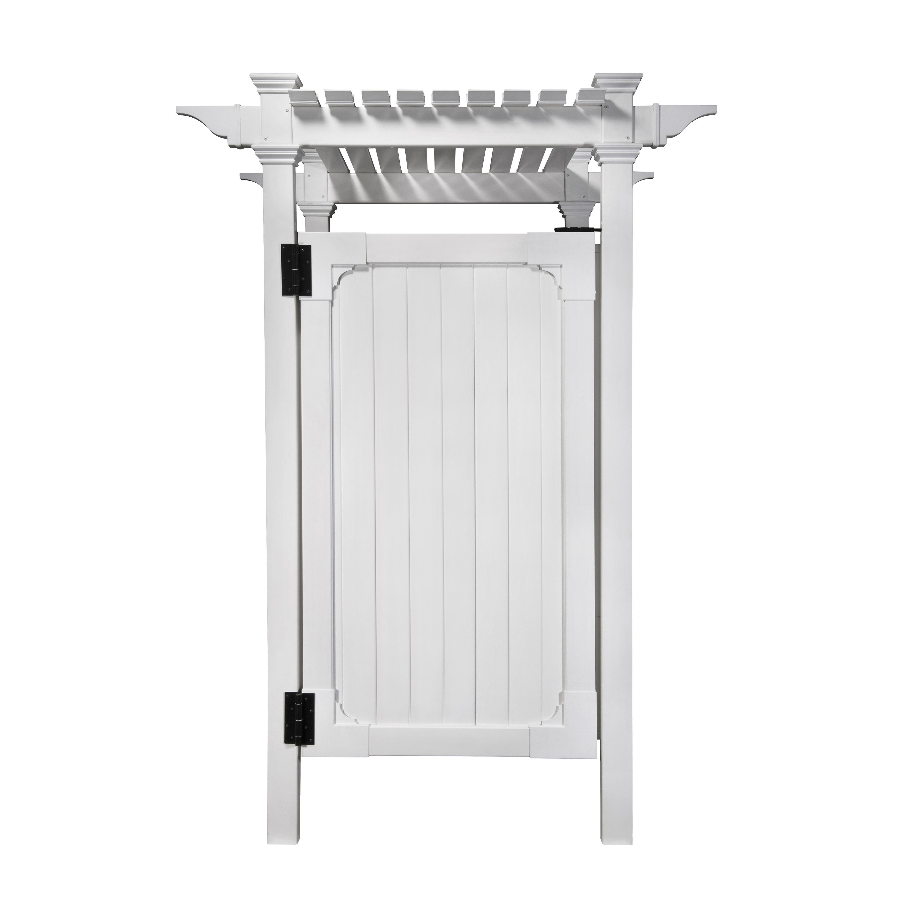 Zippity Outdoor Products In Ground Mount Outdoor Shower Enclosure