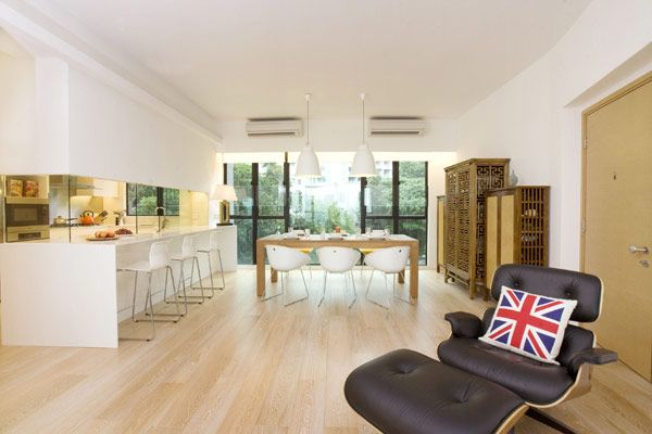 Clifton Leung Design Workshop Sent Us Photos And Information About Royalton House An Apartment Blending Modern Classic Located In Hong Kong C