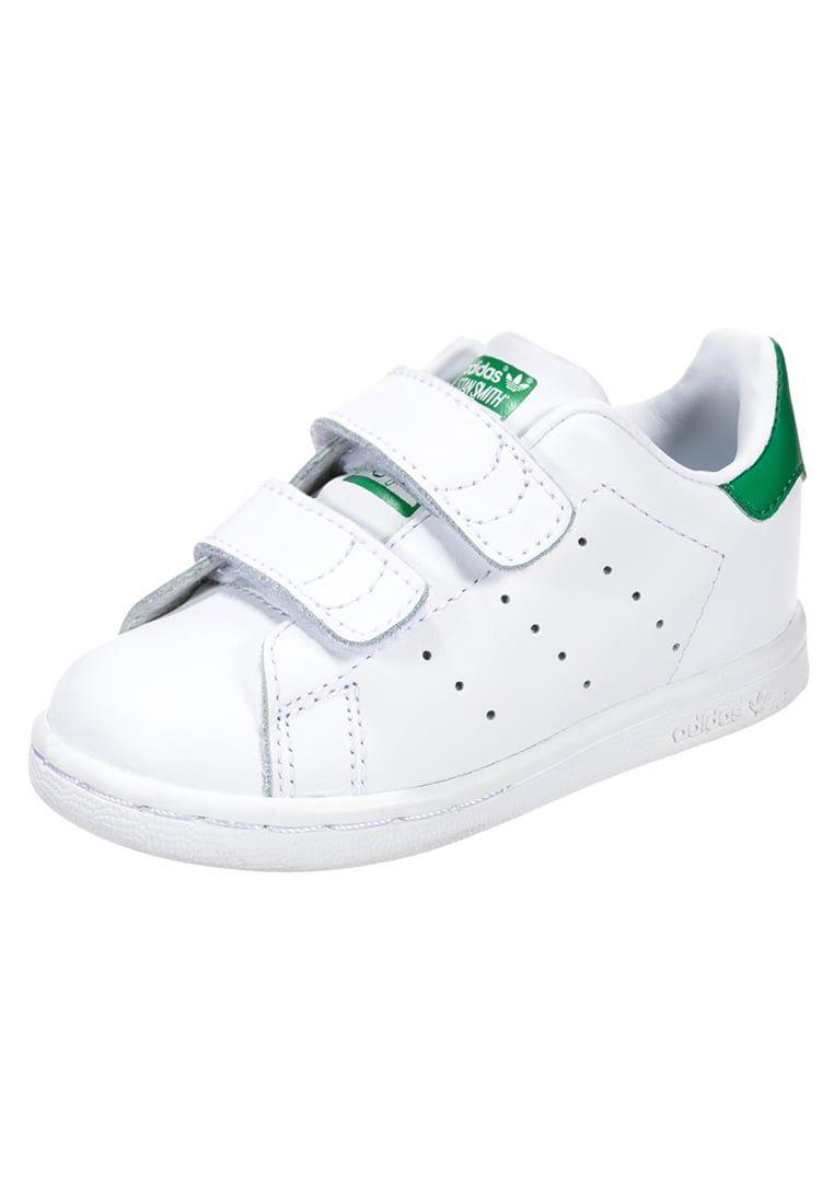 Baskets adidas Originals Baskets basses - white green blanc  45 702eee5f5b7
