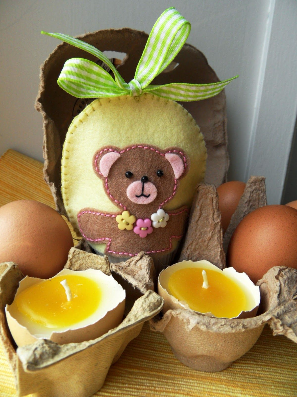 Easter Bear By Marianne Mariannedesign Crafts Felt