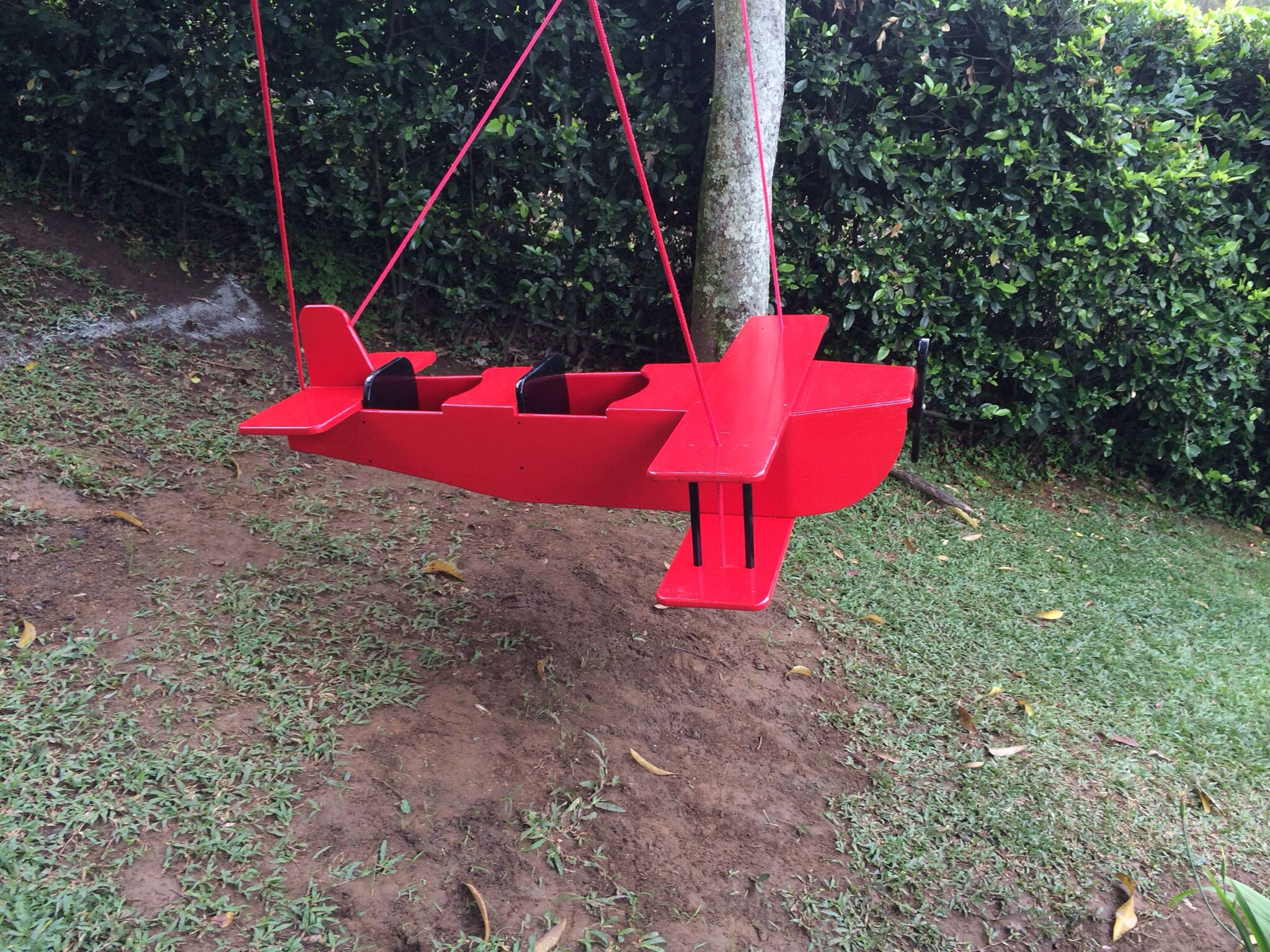 wooden airplane swing for twins wooden airplane swing