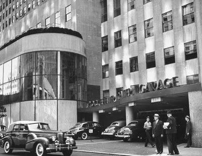 Rockefeller Center Garage The Bowery Boys Rockefeller Center New York City