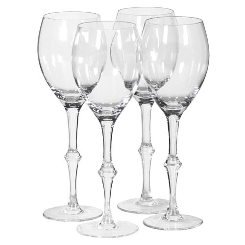 buy here set of 4 quality long stem wine glasses these wine glass are vintage in style with a. Black Bedroom Furniture Sets. Home Design Ideas