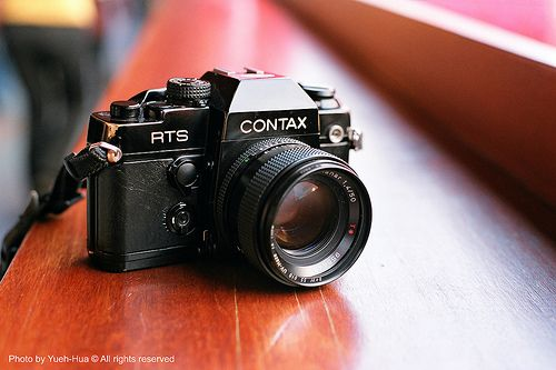 A nice film combo on its way to me from CA along with some more CZ primes - Contax RTS II + Carl Zeiss Planar 50mm f/1.4 lens