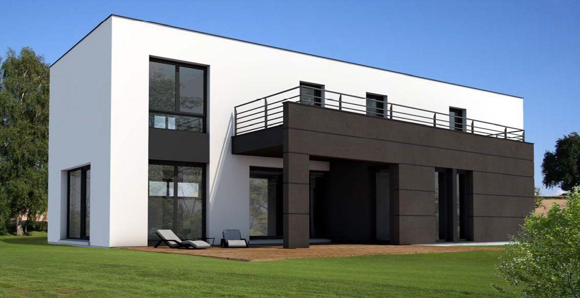Découvrez nos modèles de maisons individuelles design Cette gamme - Modeles De Maisons Modernes