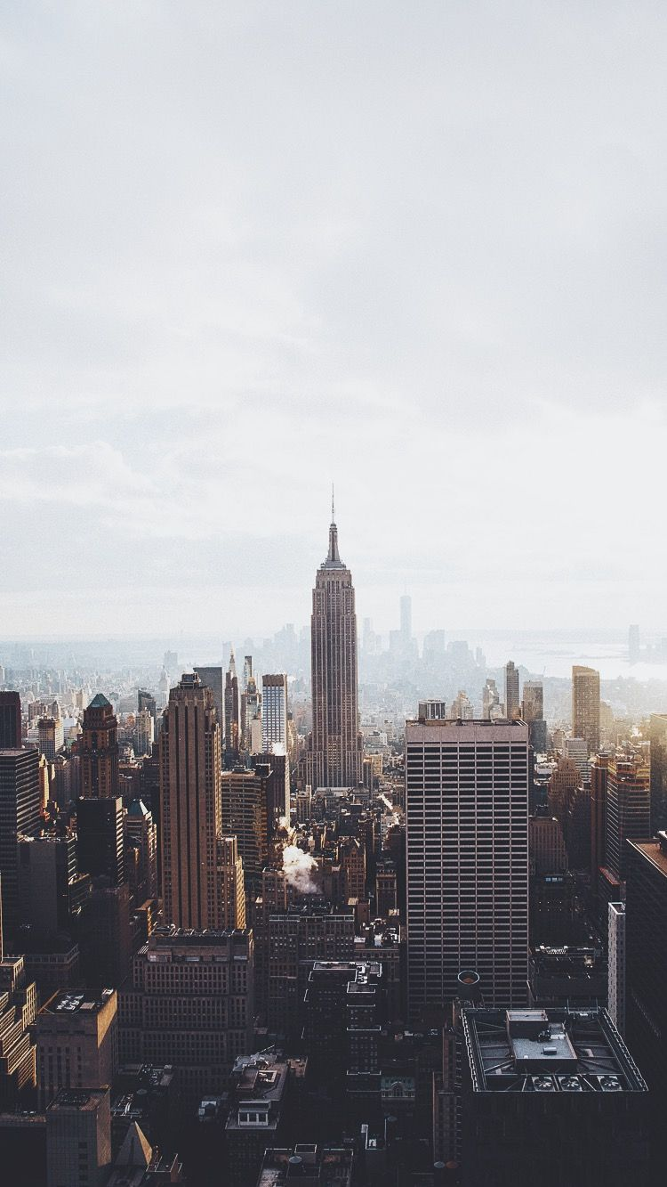 manhattan new york iphone wallpaper