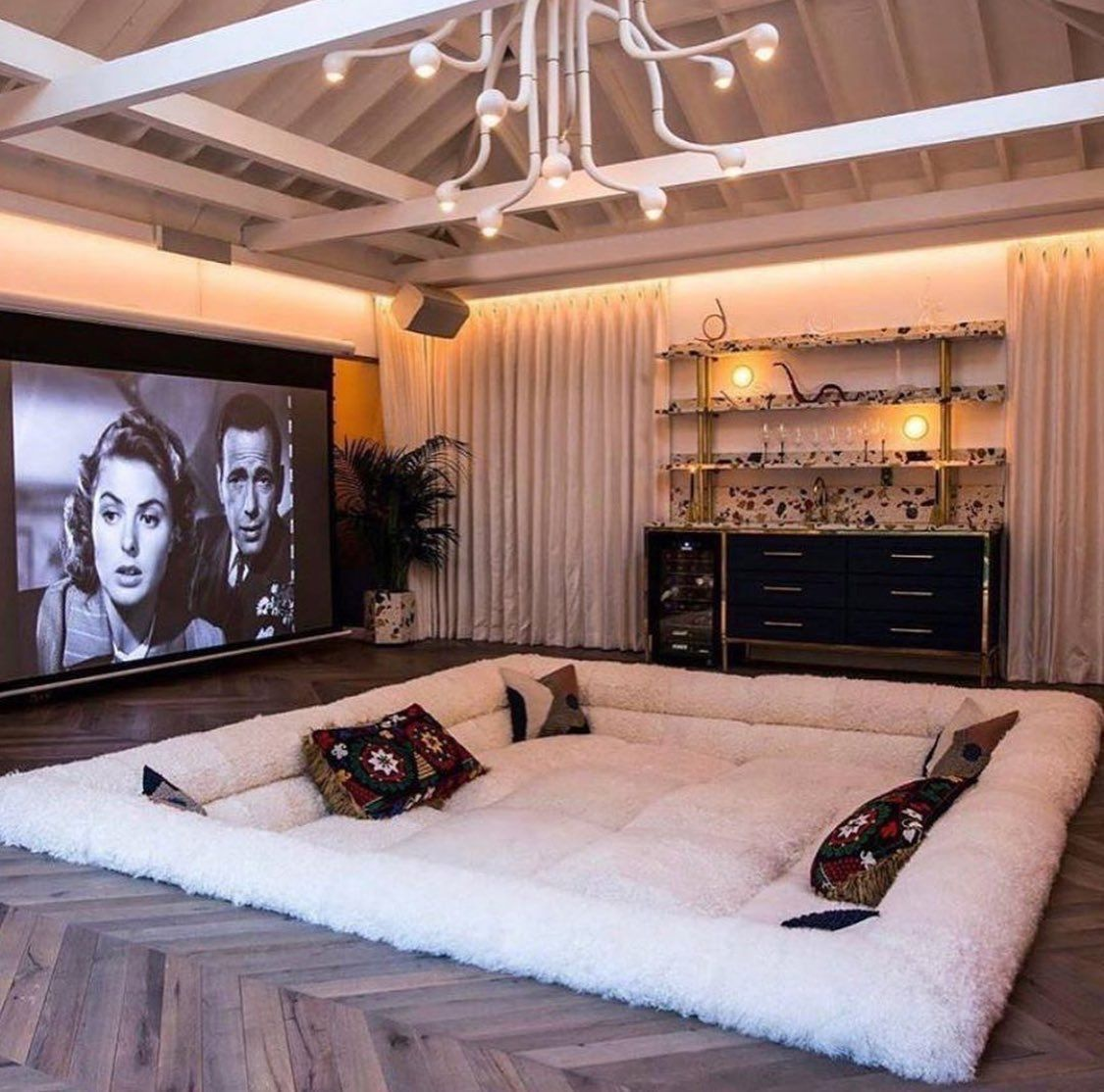 Pin By Leanne Tan Pattiselanno On Home In 2020 Sunken Living Room Home Home Room Design #sunken #living #room #couch