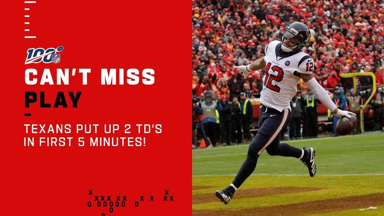 Texans Put Up 2 TDs in First 5 Minutes! The Texans jump
