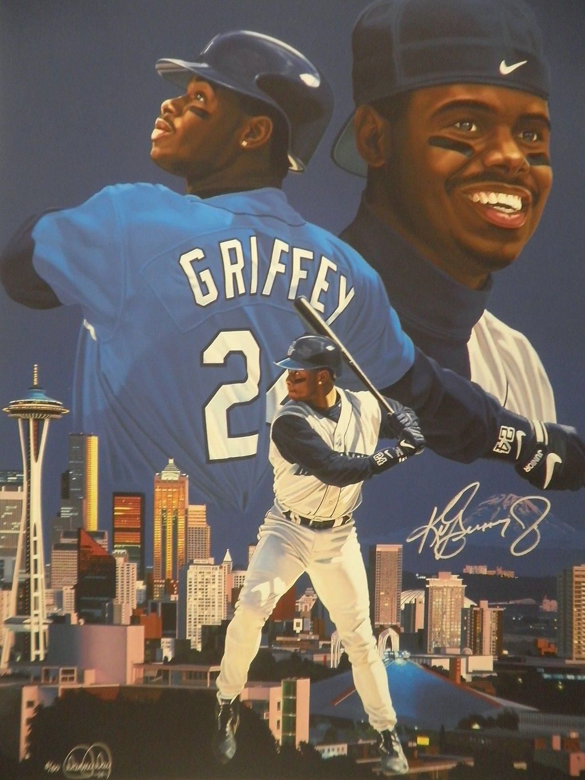 the best attitude 4f1ec fd8c0 Details about Ken Griffey Jr Signed Seattle Mariners Limited ...