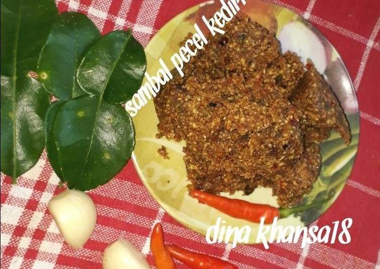 Resep 4 Sambal Pecel Kediri Oleh Dina Khansa Resep Masakan Resep Kacang