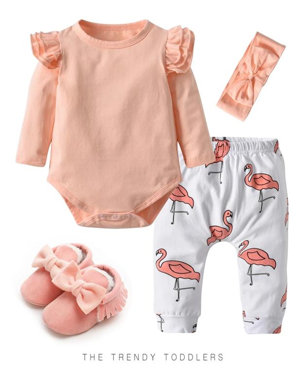 Bodys para Bebe Para Vestir A Tu Niña con Delicadeza y Ternura  Set De 6 piezas