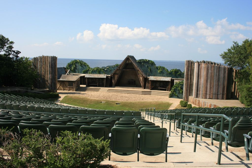 Theater at Fort Raleigh National Historic Site