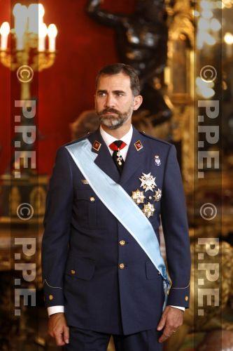 """Recepción en el Palacio Real"""""""