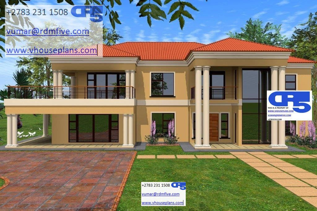 A AACHouse Plan No W1845 Double story house, House