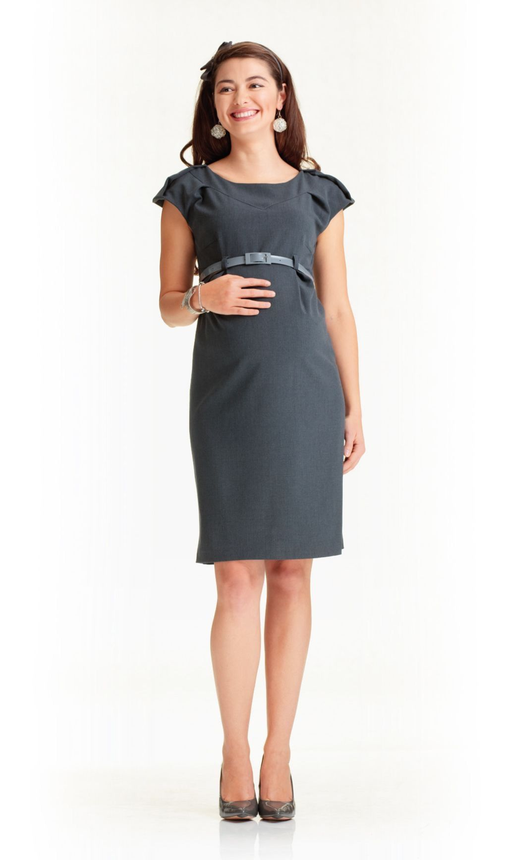 cdda669fcee Office maternity dress