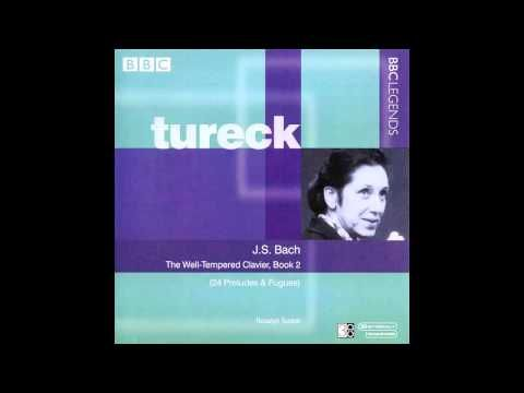 ▶ Rosalyn Tureck - J. S. Bach: BWV 889 - Prelude & Fugue No.20 in A minor - TWTC: Book 2 - YouTube