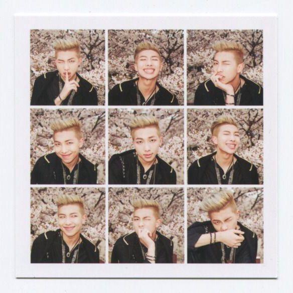 Rap Monster // Kim Nanjoon  in the mood for love pt.1   화양연화 pt.1  花樣年華 pt.1  album photocard