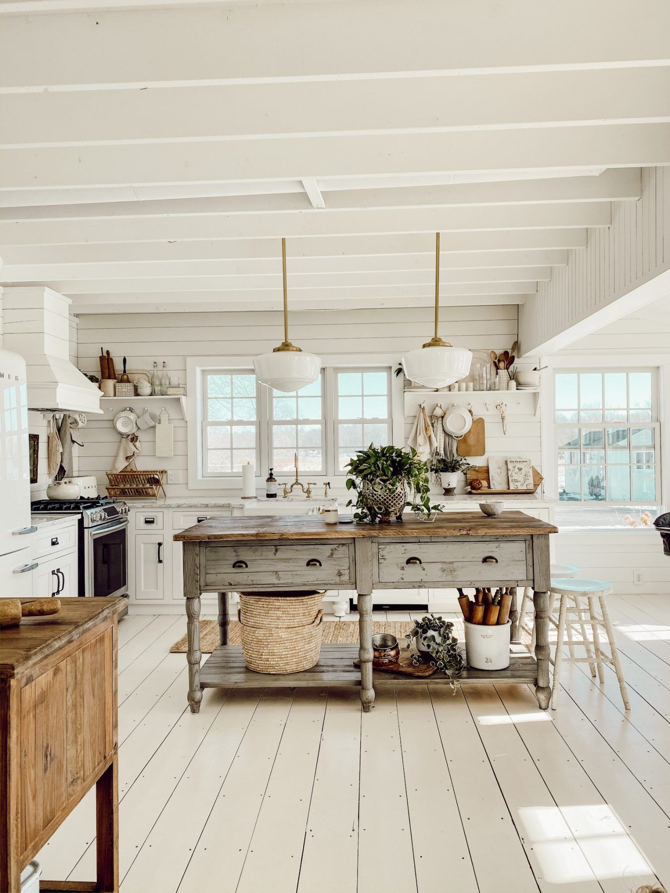 our open concept ceilings faq s cottageinteriors in 2020 kitchen interior farmhouse style on kitchen interior farmhouse id=17179
