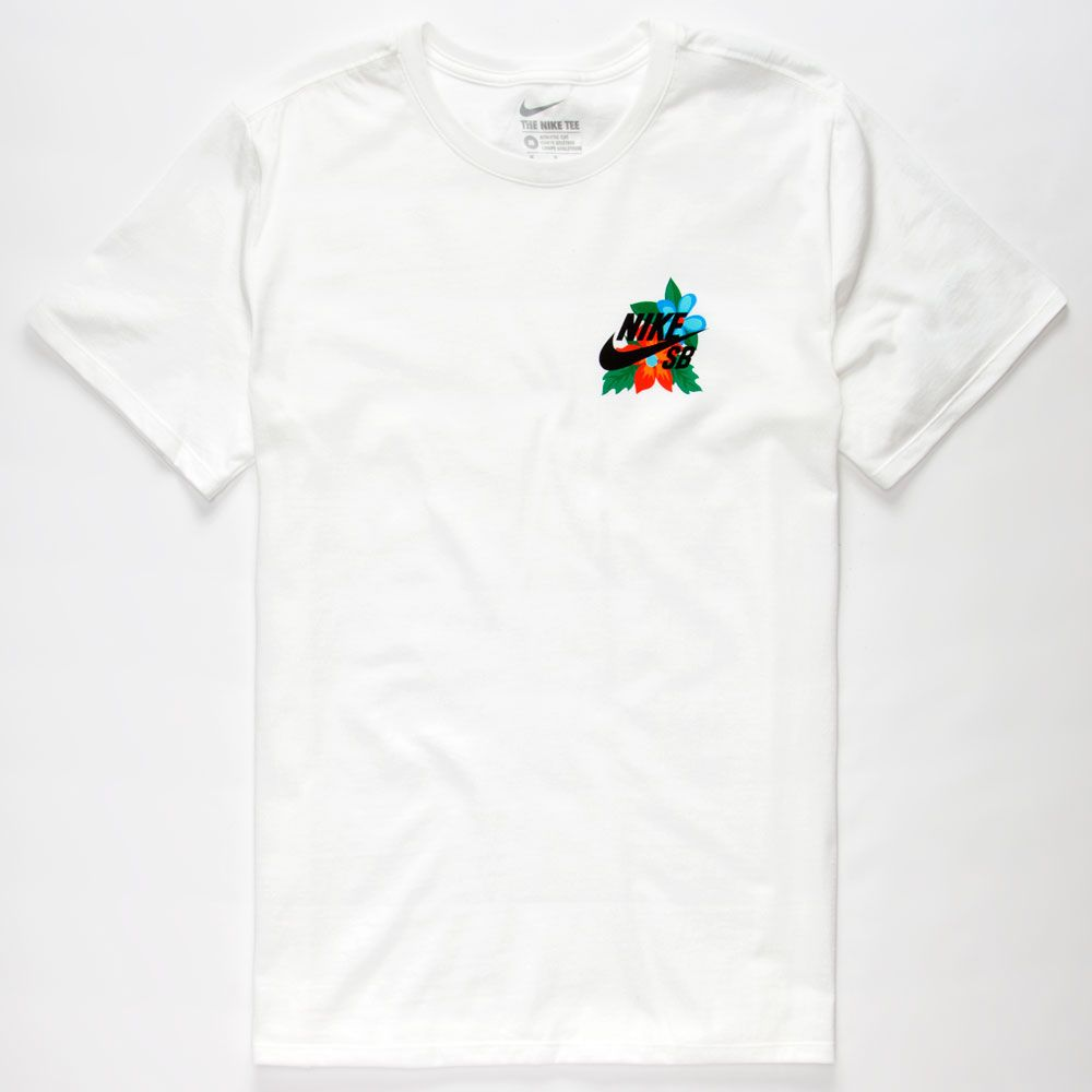 a03f08375ce86 NIKE SB Colorful Floral Mens T-Shirt 257377150 | Graphic Tees | much ...