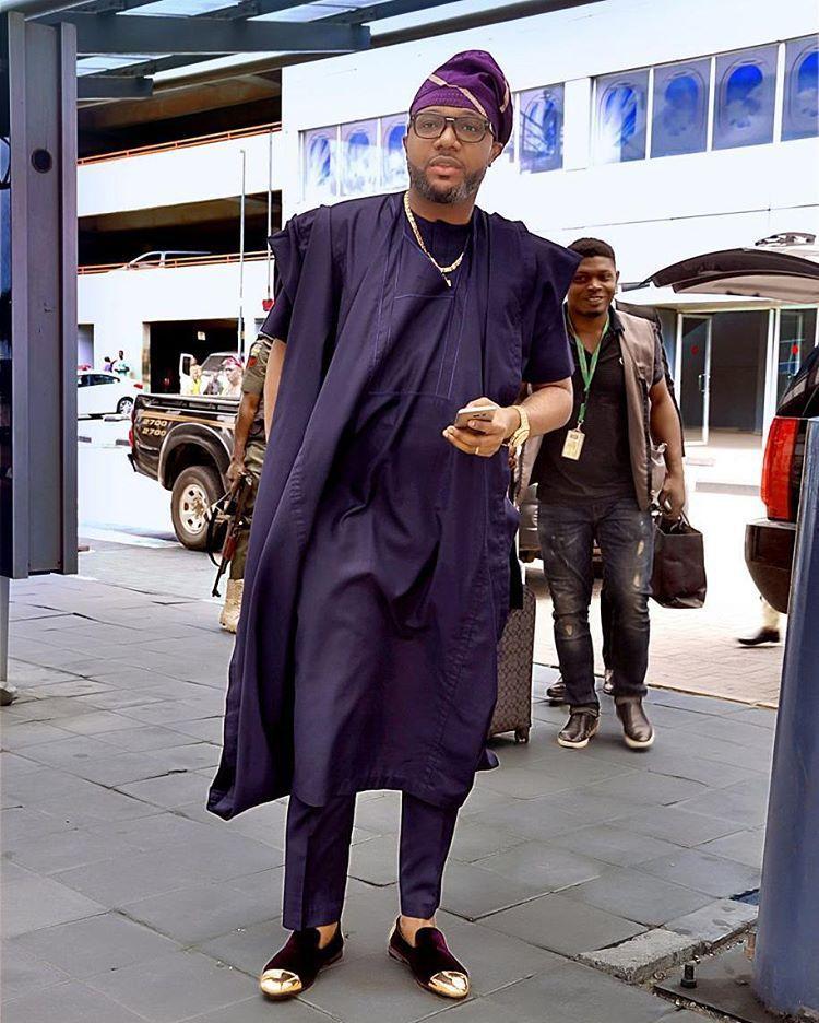 E Money Agbada Styles Fashion Nigerian Record Label Executive Mens Fashion 3 Too Much Sauce
