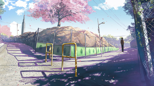 新海誠 桜