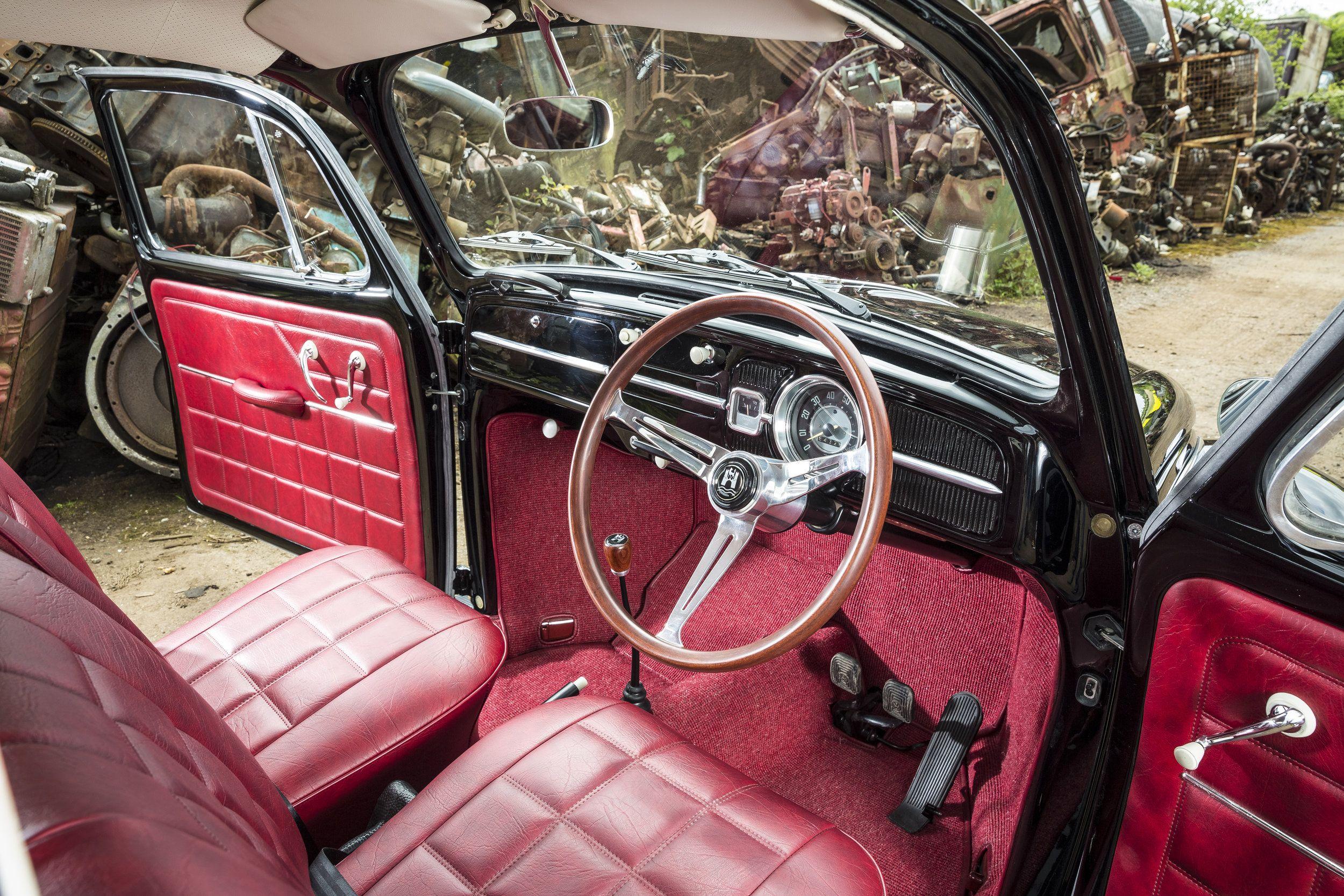 1966 VW Beetle 'Black Jack' — Classic Car Revivals #aircooled #aircooledlife #…