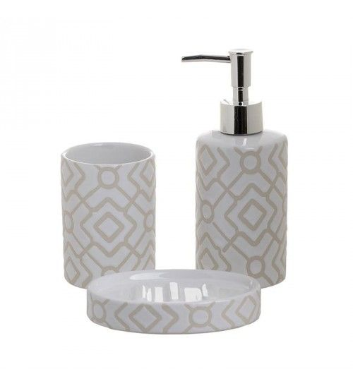 S 3 Porcelain Bathroom Set In White Color Bathroom Bathroom
