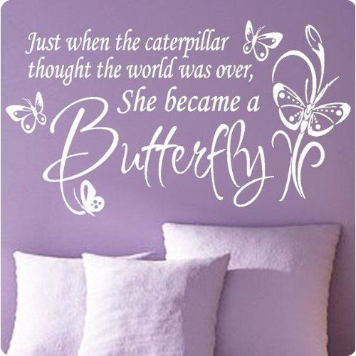 Nursery Wall Quotes All Things Purple Wall Quotes Quotes Sayings