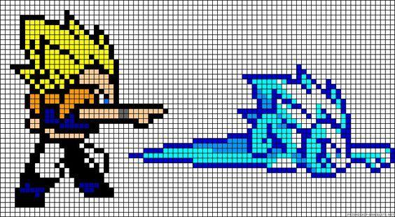 Dragon Ball Z Perler Bead Pattern Dibujos En Cuadricula Dibujos En Pixeles Dibujos Pixelados