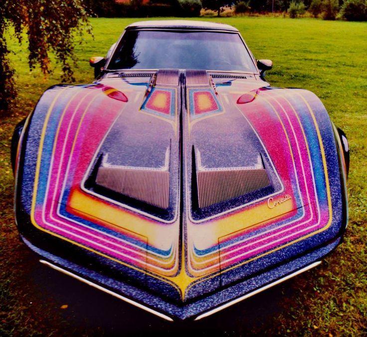 70 S Street Machines Custom Cars Paint Art Cars Classic Corvette