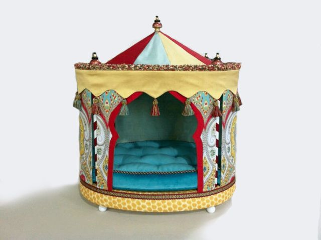 Charitybuzz | Circus Tent Custom Pet Bed Designed by Phyllis Harbinger an ASID NEW YORK  sc 1 st  Pinterest & Charitybuzz | Circus Tent Custom Pet Bed Designed by Phyllis ...
