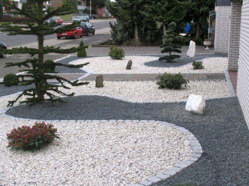 Gut Vorgartengestaltung Mit Kies   15 Vorgarten Ideen