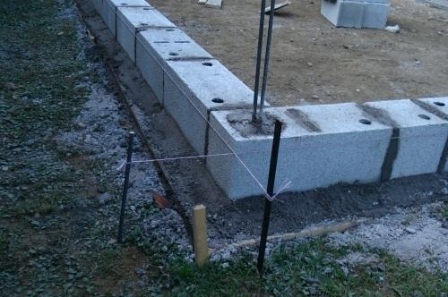 Fondation Pour Un Garage En Parpaings Parpaing Garage Petite Maison De Jardin