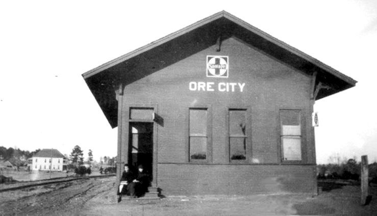 Gc Sf Depot Ore City Texas Ore City City Train Depot