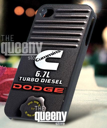 Dodge Cummins Turbo Diesel Truck iphone case