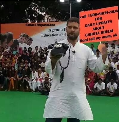 What are some of the funniest Rahul Gandhi trolls and memes
