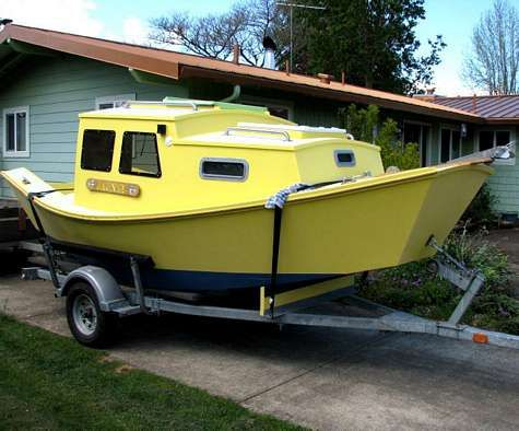 Pin by Michael Douglas Scovel on Homemade boats | Wooden ...