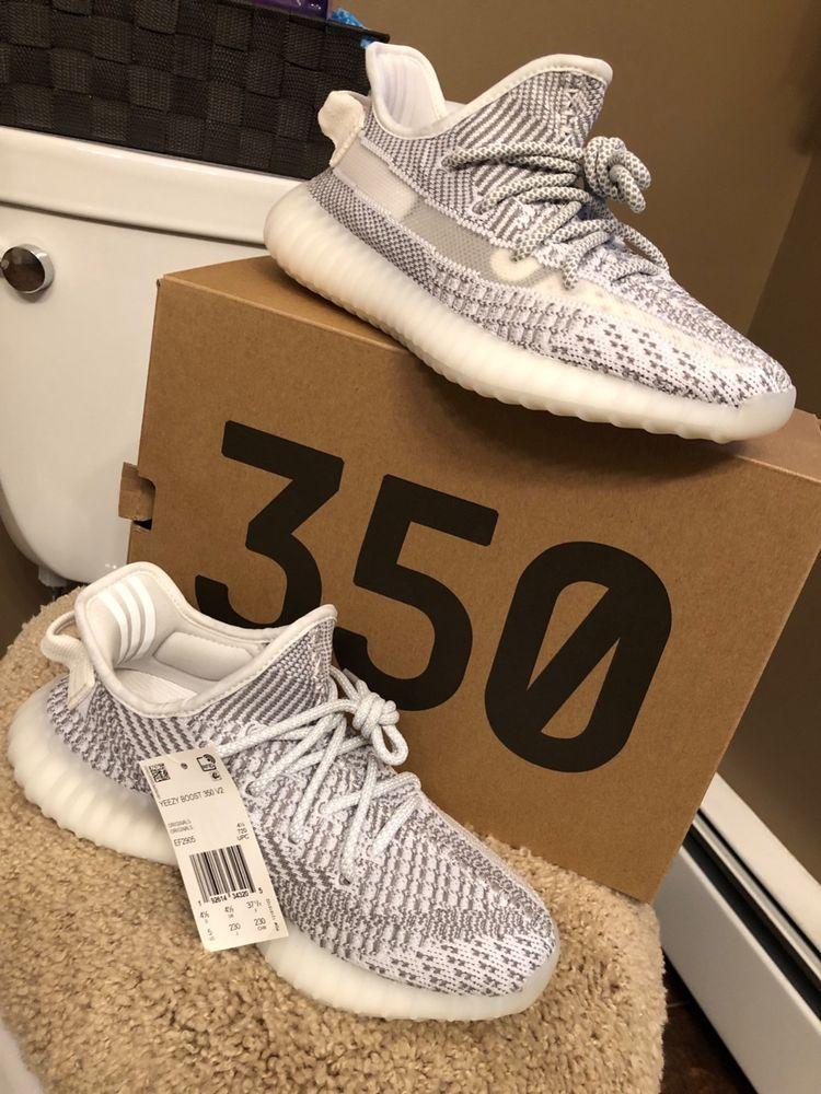 4dbddda44 yeezy boost 350 v2 white size 5  fashion  clothing  shoes  accessories   mensshoes  athleticshoes (ebay link)