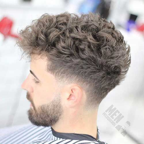 Different Hairstyle Ideas For Men With Curly Hair Curly Different Hairstyle Ideas Taper Fade Curly Hair Mens Hairstyles Curly Thick Hair Styles