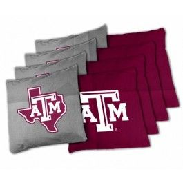 Remarkable Texas Am Aggies 8 16Oz Xl Duck Cloth Tailgate Toss Ibusinesslaw Wood Chair Design Ideas Ibusinesslaworg