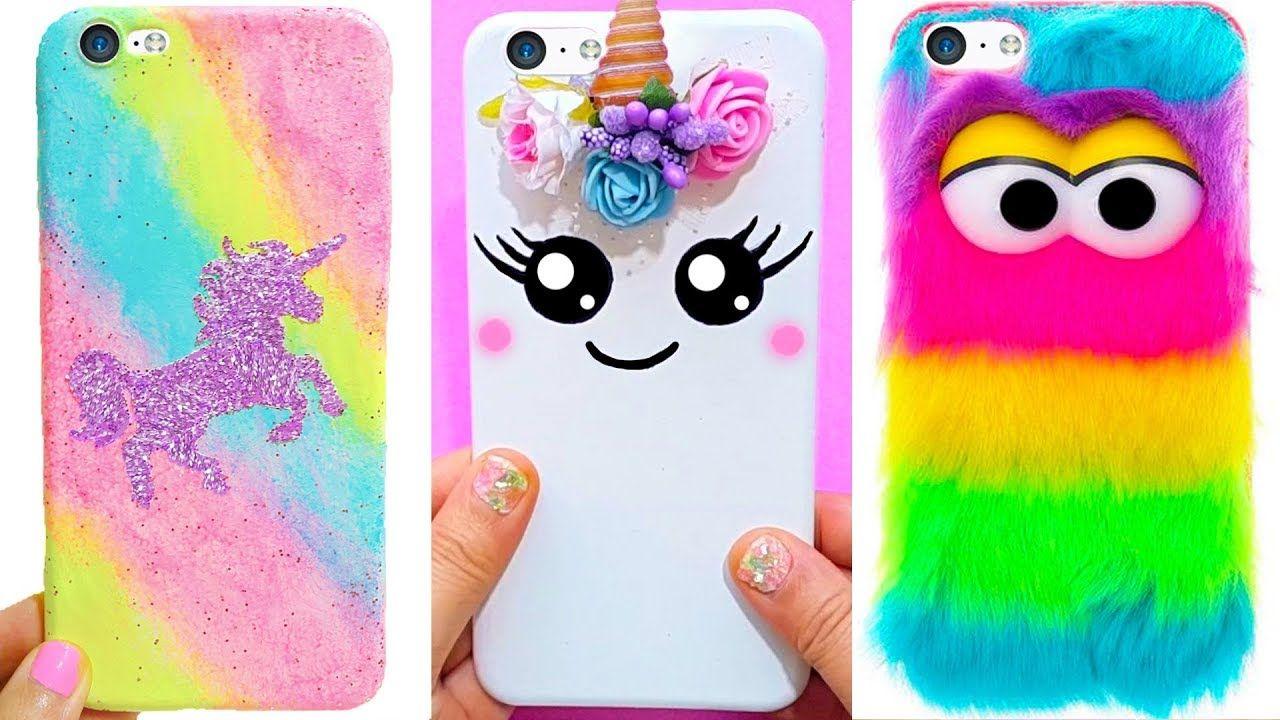 DIY Unicorn Rainbow IPhone Case Diy