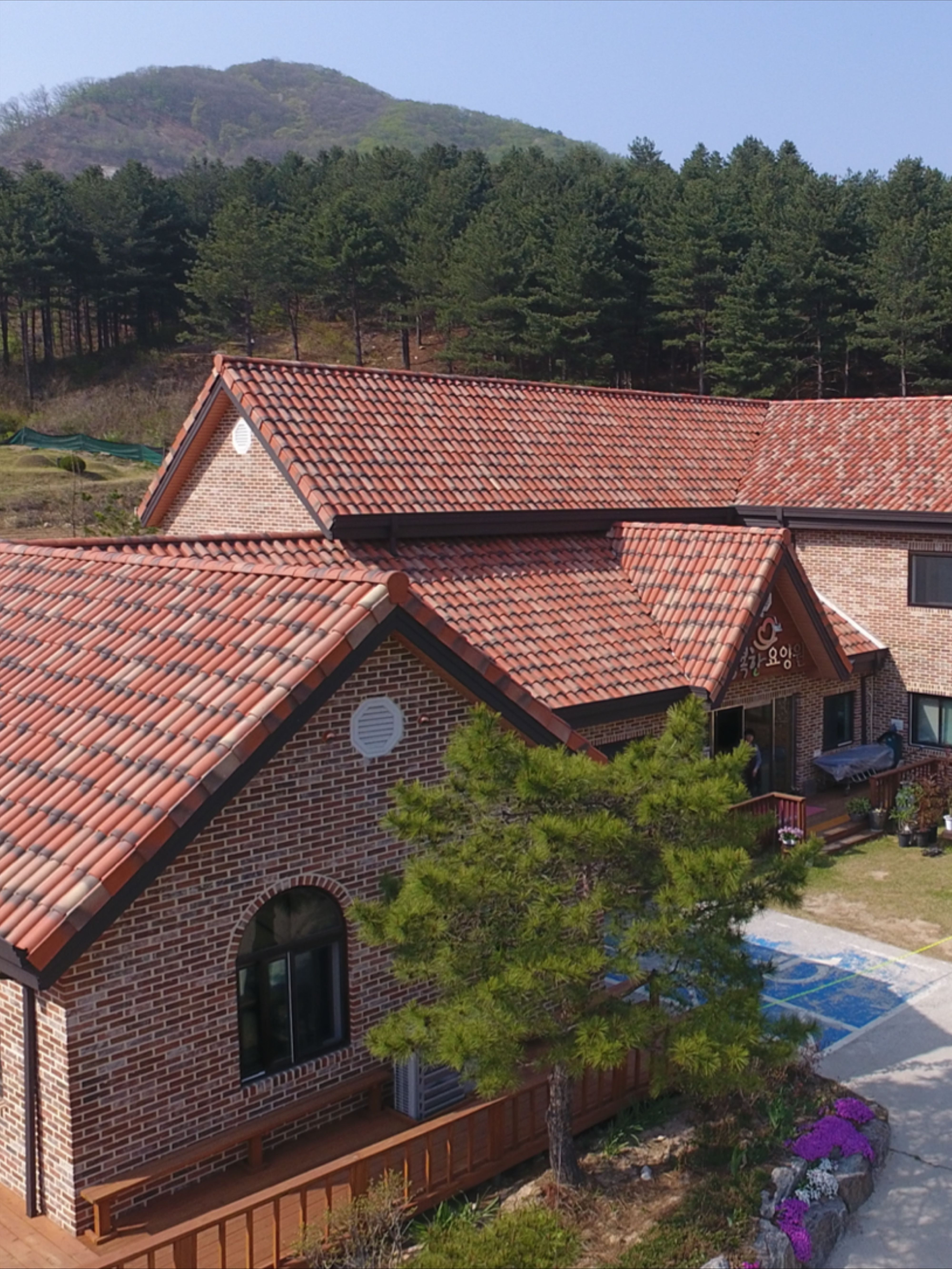Terreal Roofing Romane Origine In 2020 Clay Roof Tiles Roofing Roofing Systems