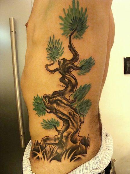 Small Bonsai Tattoo: Bonsai Tree By Victor Montaghini